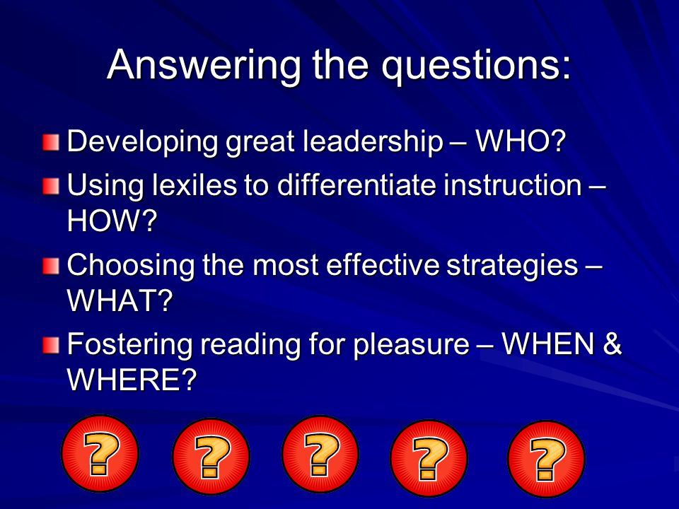 Main Idea Key Words and Meanings Important Points Ah-has (Insights) Unanswered Questions Source: ICLE Rock Around the Clock