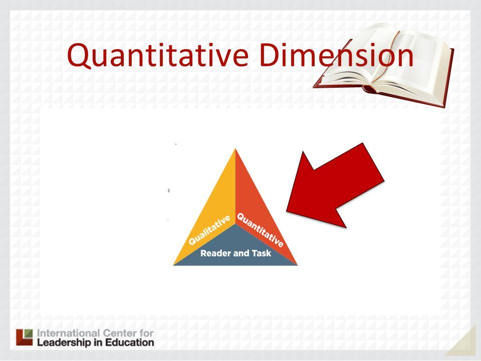 Quantitative Dimension