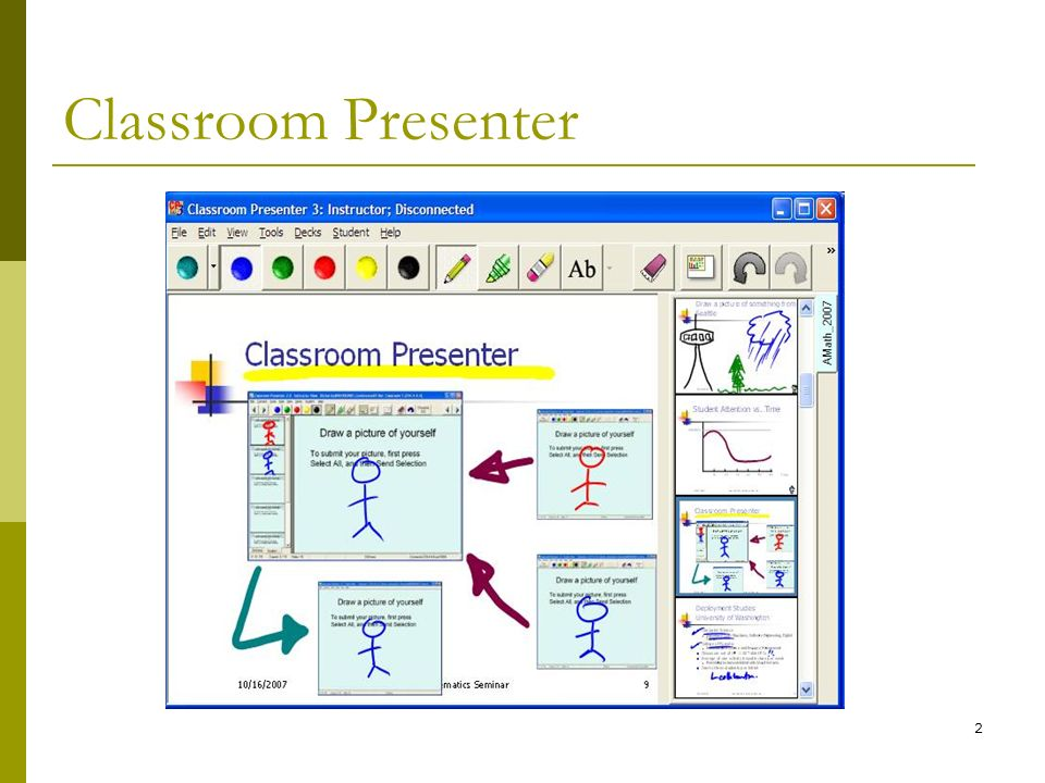2 Classroom Presenter