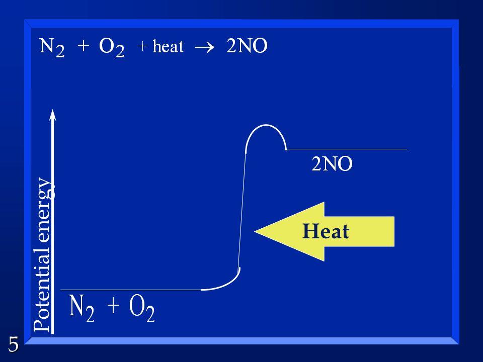 5 Potential energy Heat