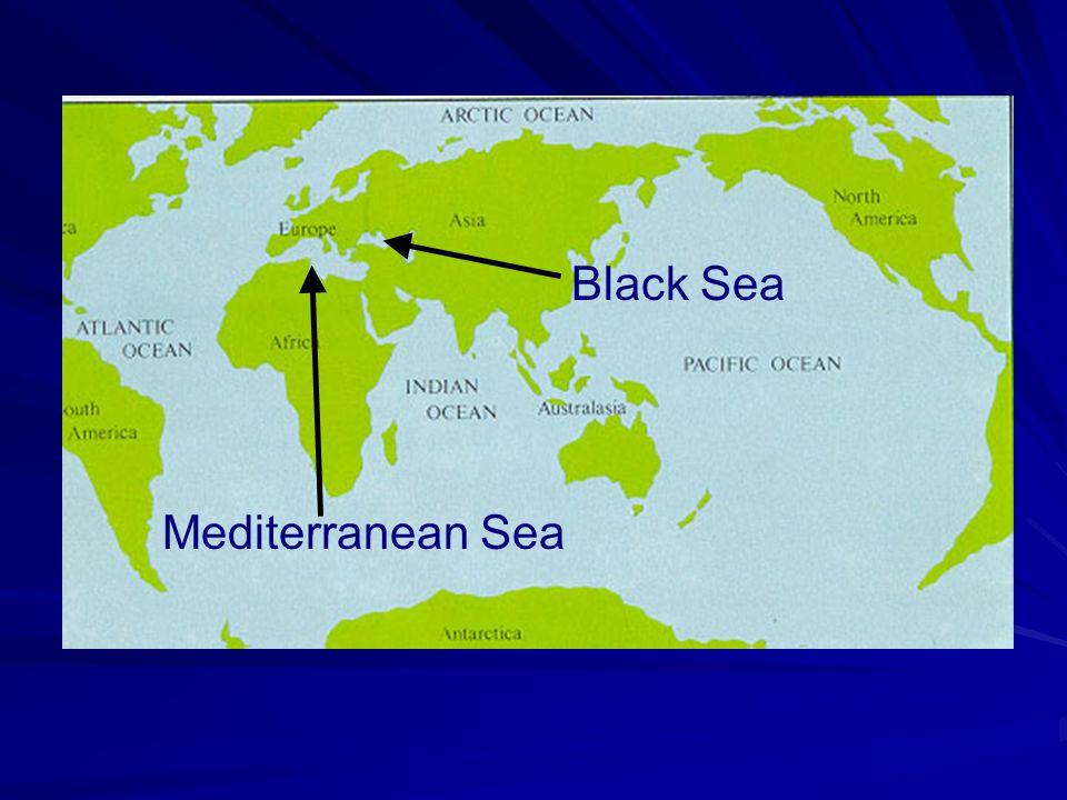 Mediterranean Sea Black Sea