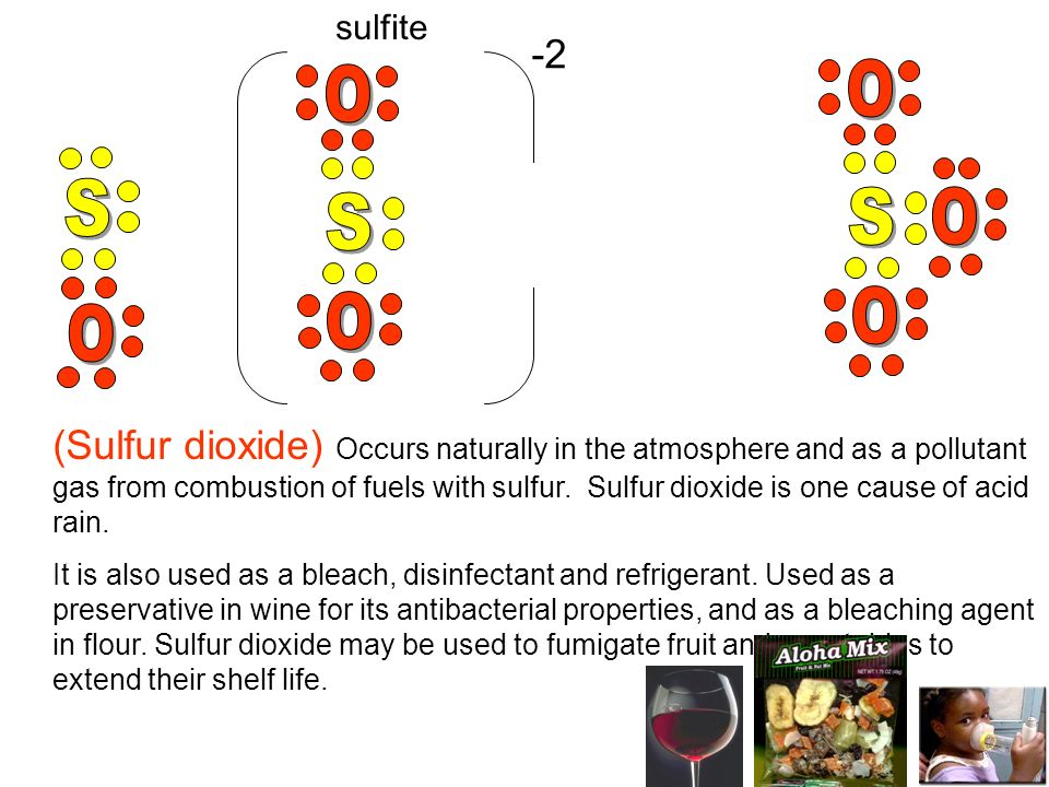(Sulfur dioxide) Occurs naturally in the atmosphere and as a pollutant gas from combustion of fuels with sulfur. Sulfur dioxide is one cause of acid r