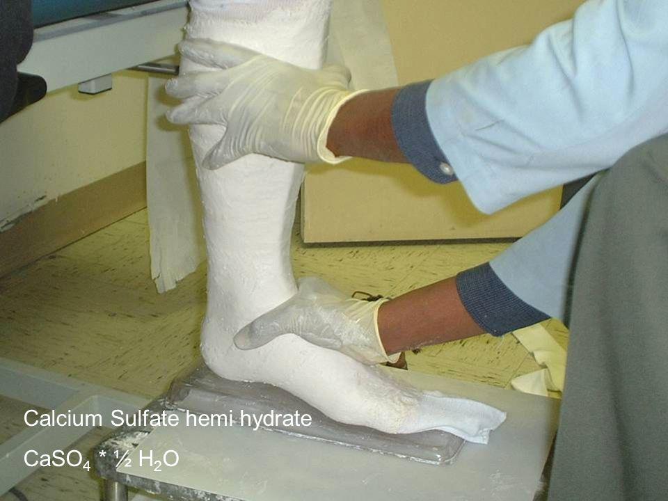 Calcium Sulfate hemi hydrate CaSO 4 * ½ H 2 O