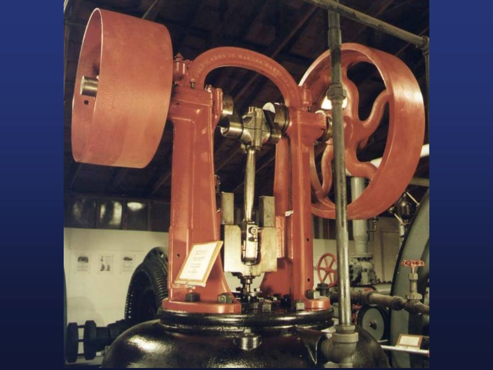 Heres are some pictures of the steam engines used in factories.
