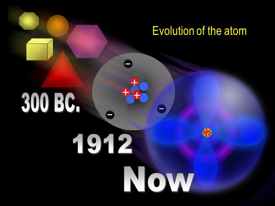 Evolution of the atom