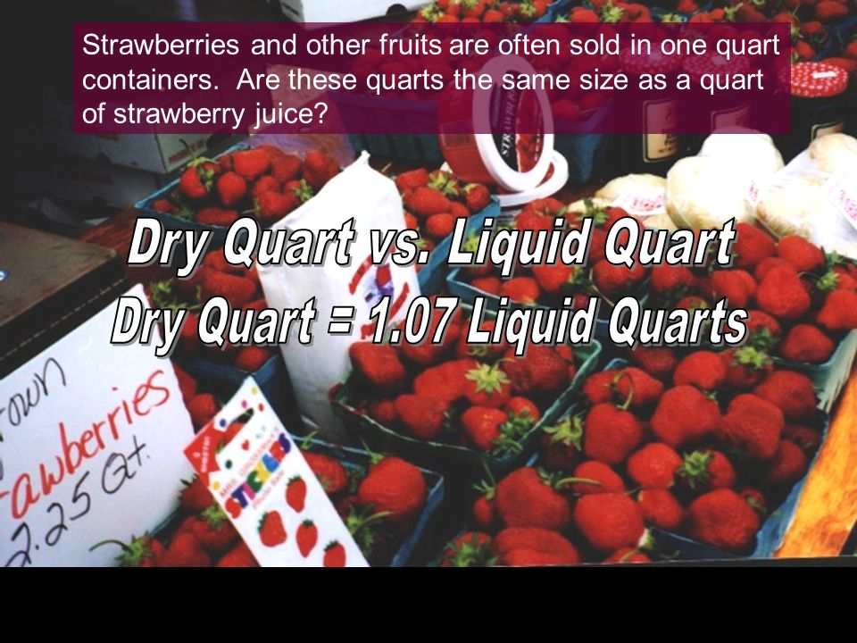 What does 8 quarts of strawberries make?