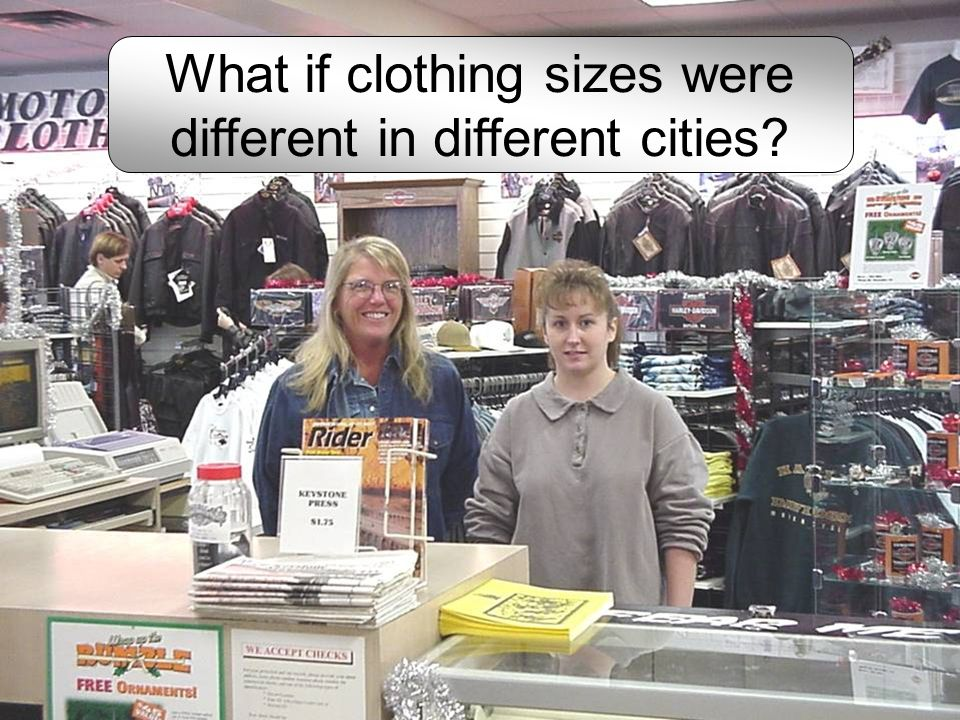 What if gallons were different sizes in different cities?