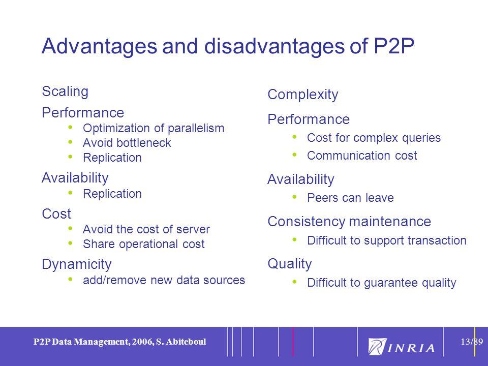 13 P2P Data Management, 2006, S.