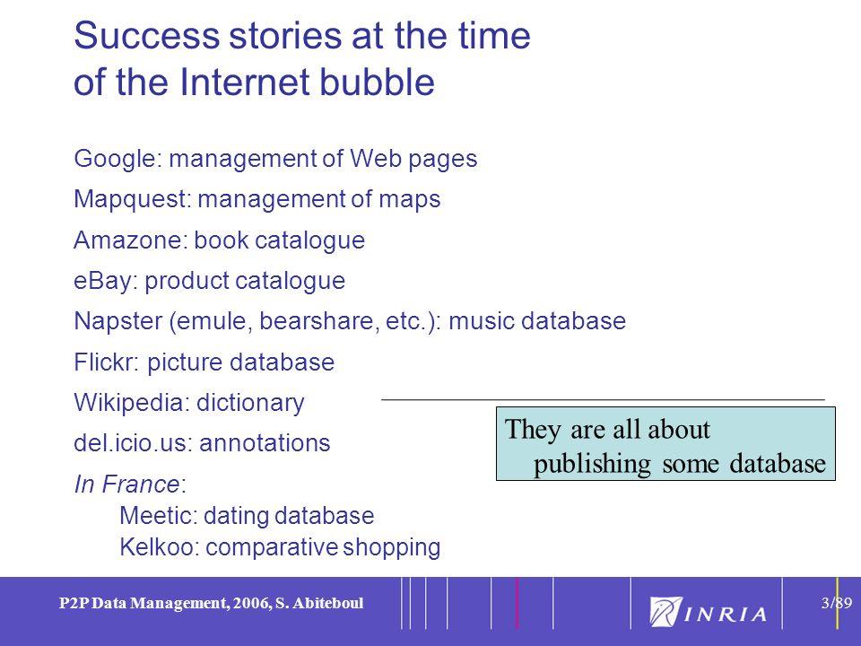 3 P2P Data Management, 2006, S.