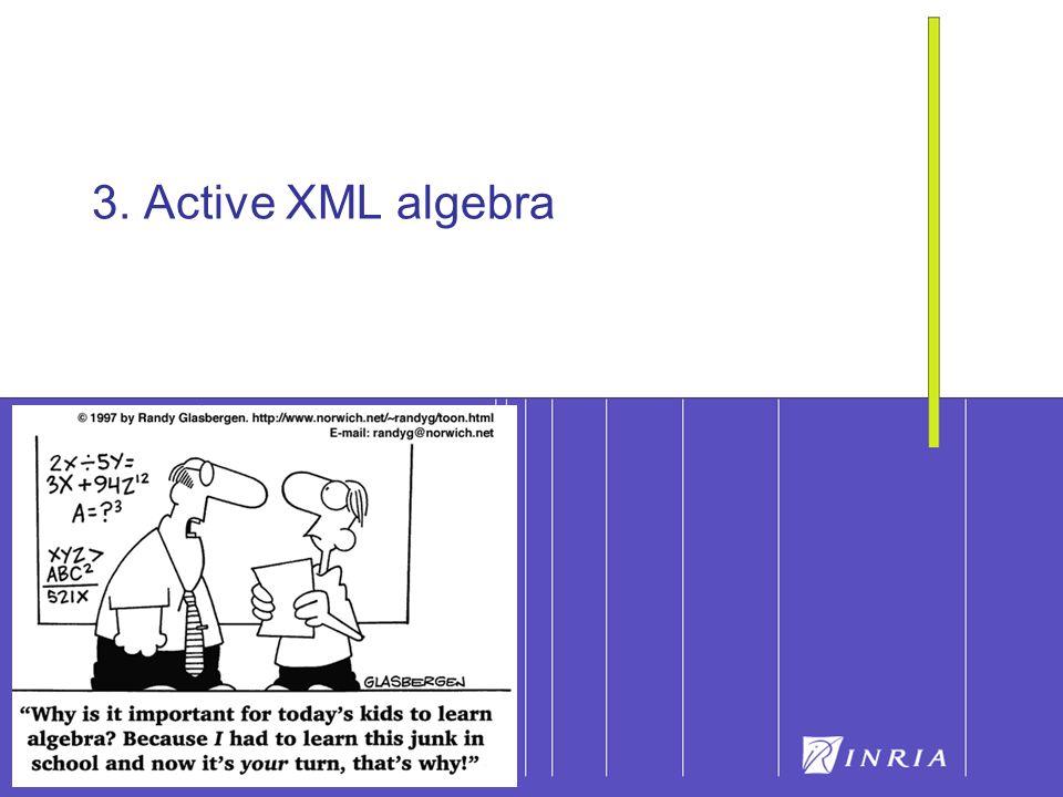 38 3. Active XML algebra