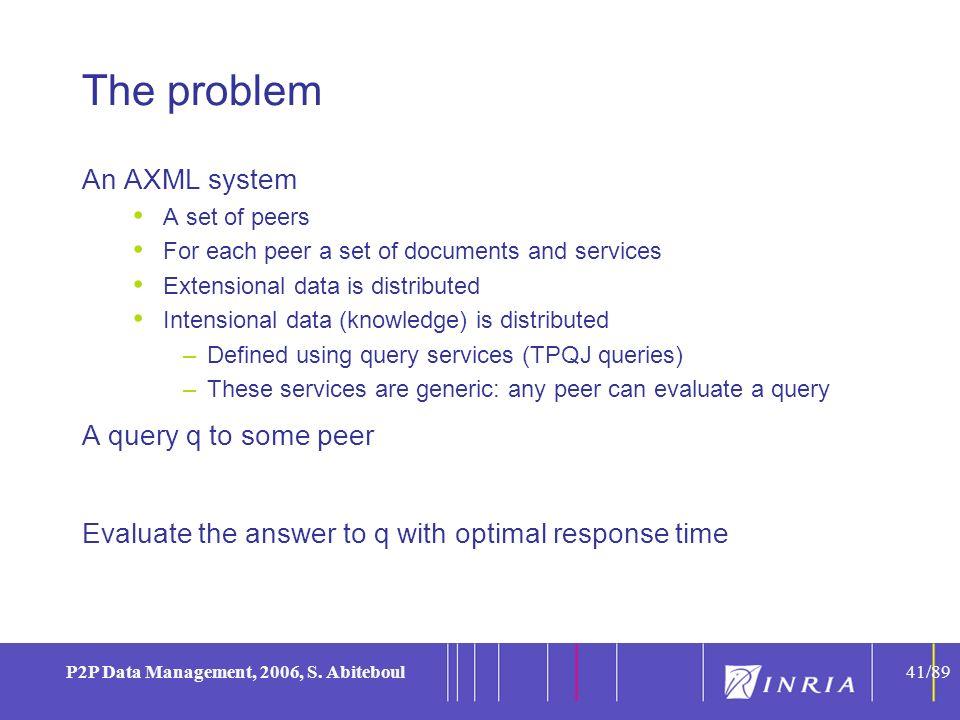 41 P2P Data Management, 2006, S.
