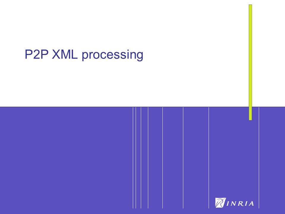 73 P2P XML processing