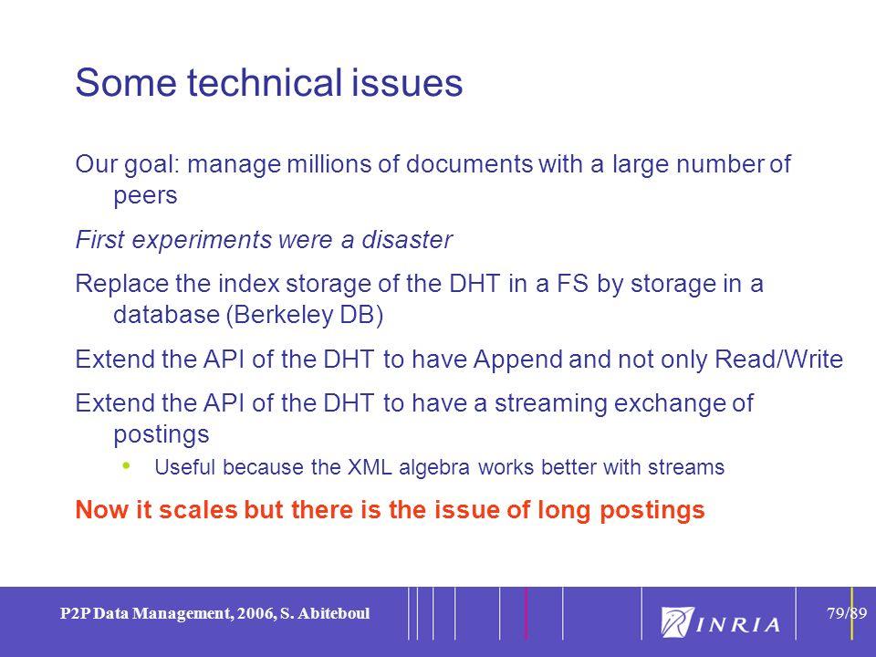 79 P2P Data Management, 2006, S.