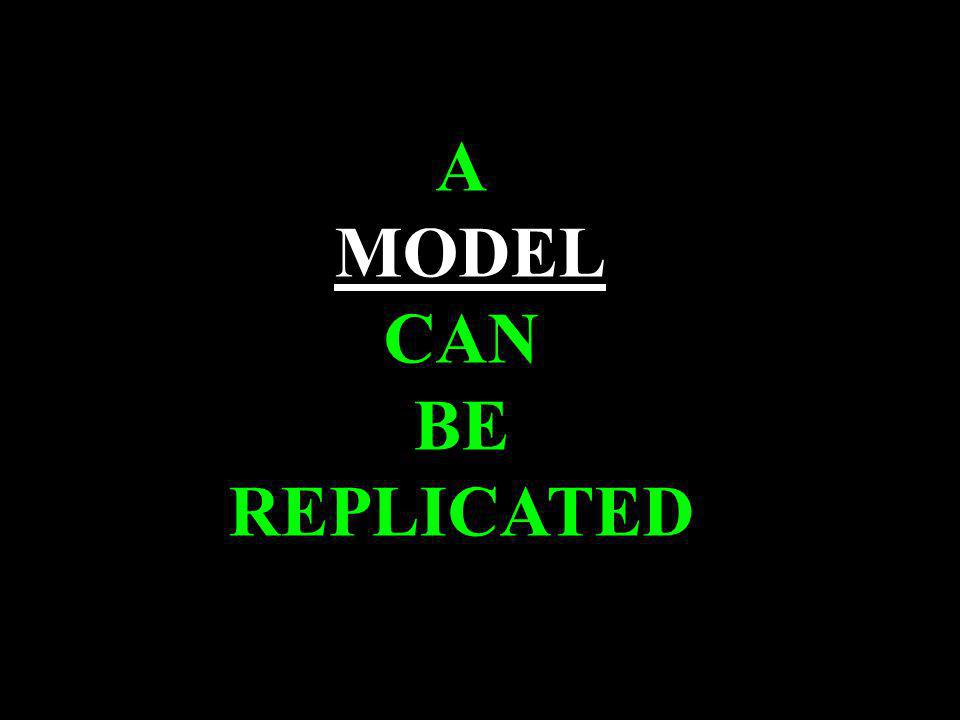 (c) susan kovalik The Center for Effective Learning 6 A MODEL CAN BE REPLICATED