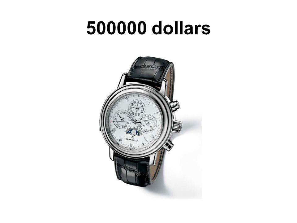 500000 dollars