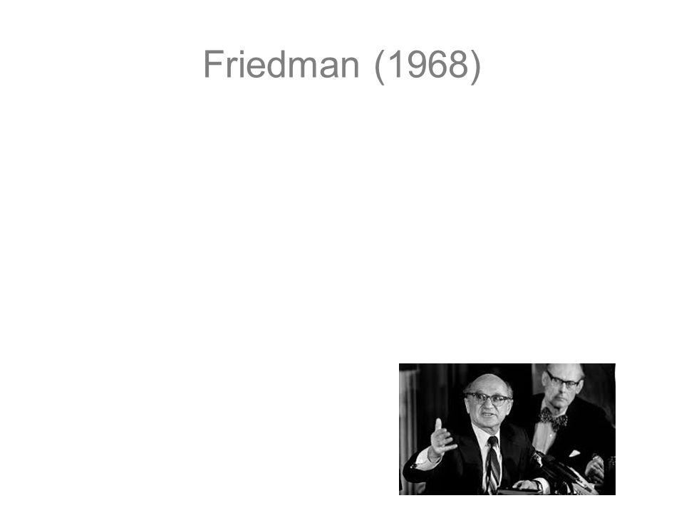 Friedman (1968)