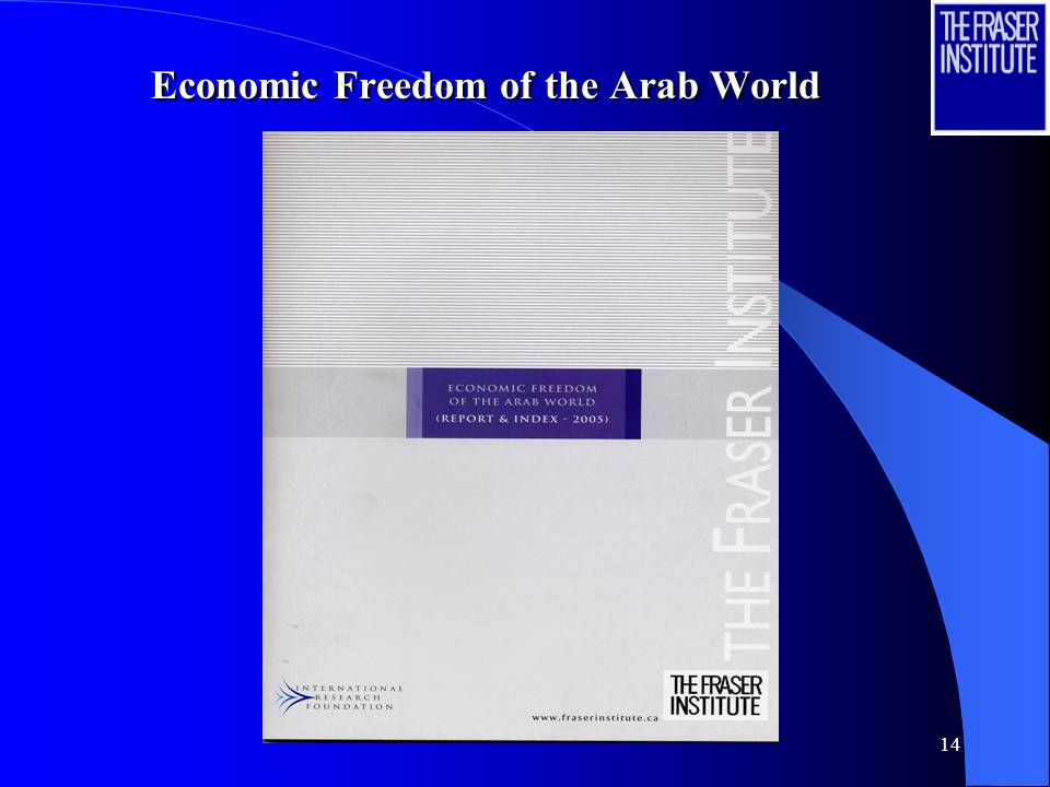 14 Economic Freedom of the Arab World