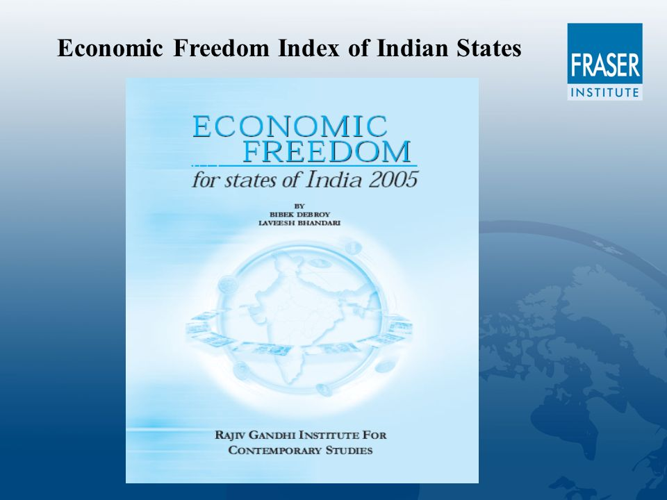 Economic Freedom Index of Indian States