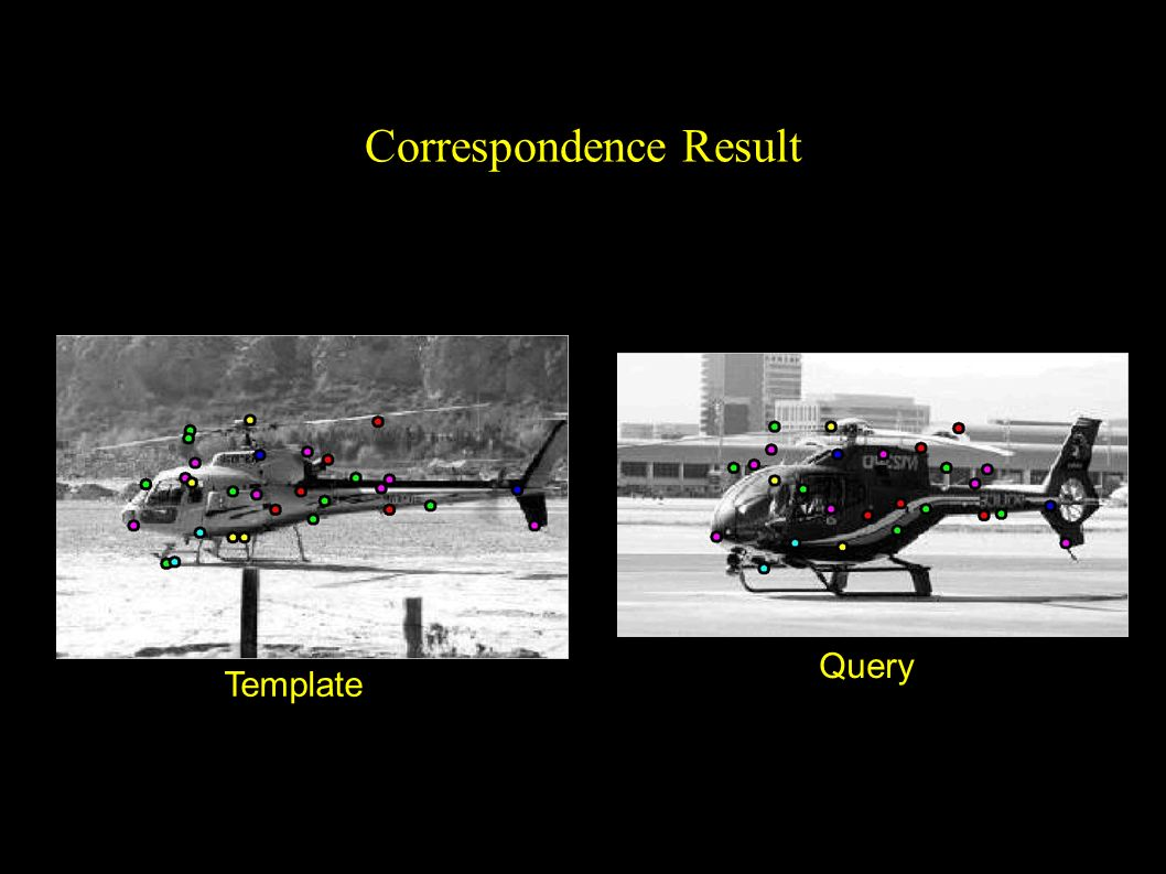 Correspondence Result Query Template