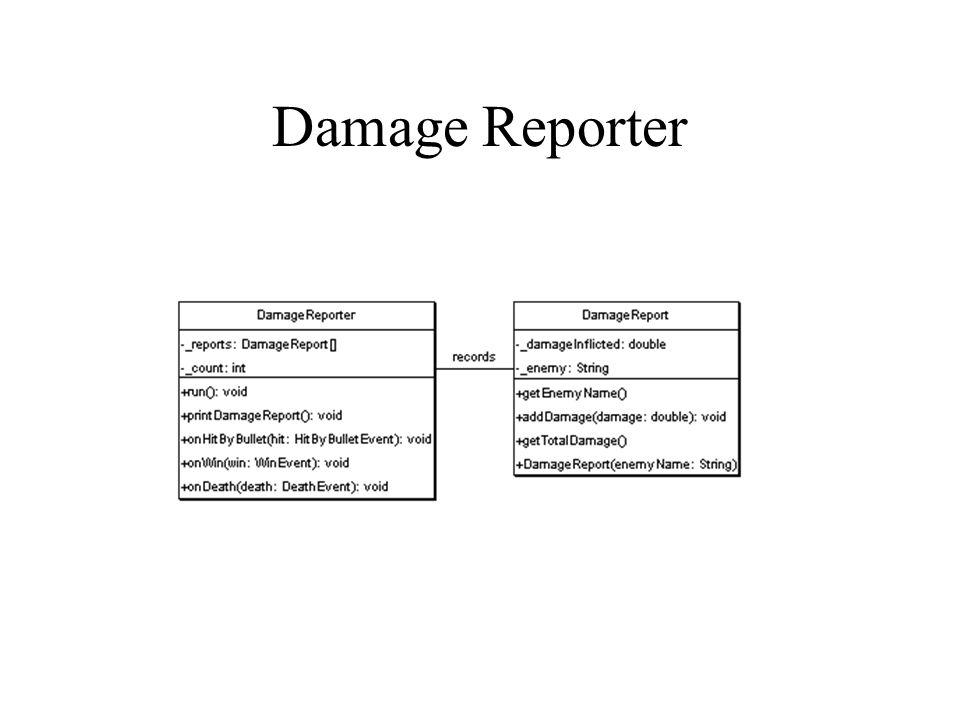 Damage Reporter