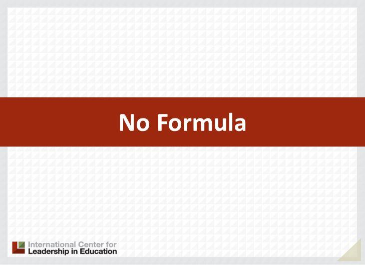 No Formula