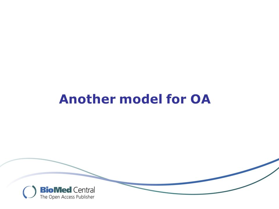 Another model for OA