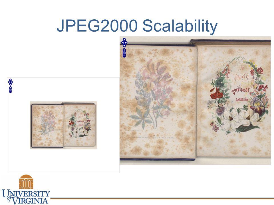 JPEG2000 Scalability