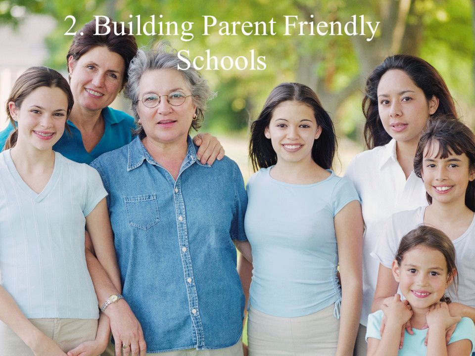 2. Building Parent Friendly Schools