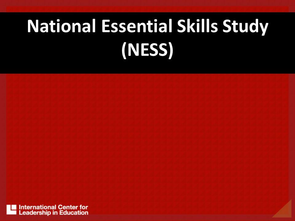 National Essential Skills Study (NESS)