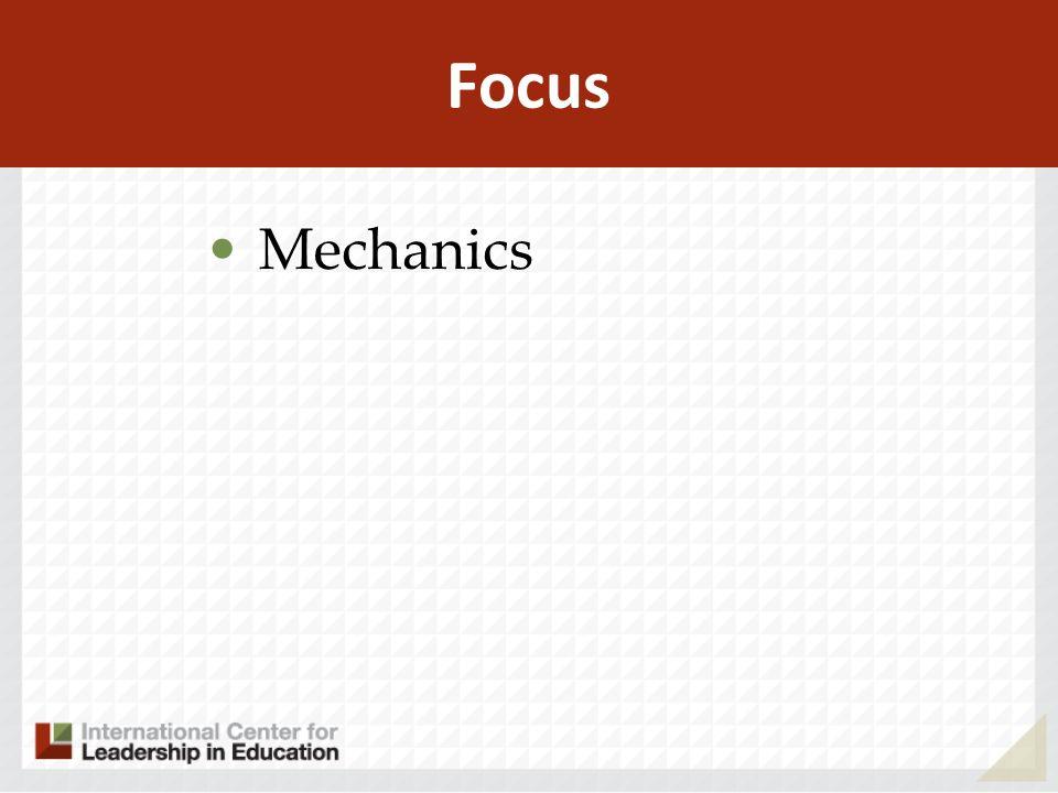 Focus Mechanics