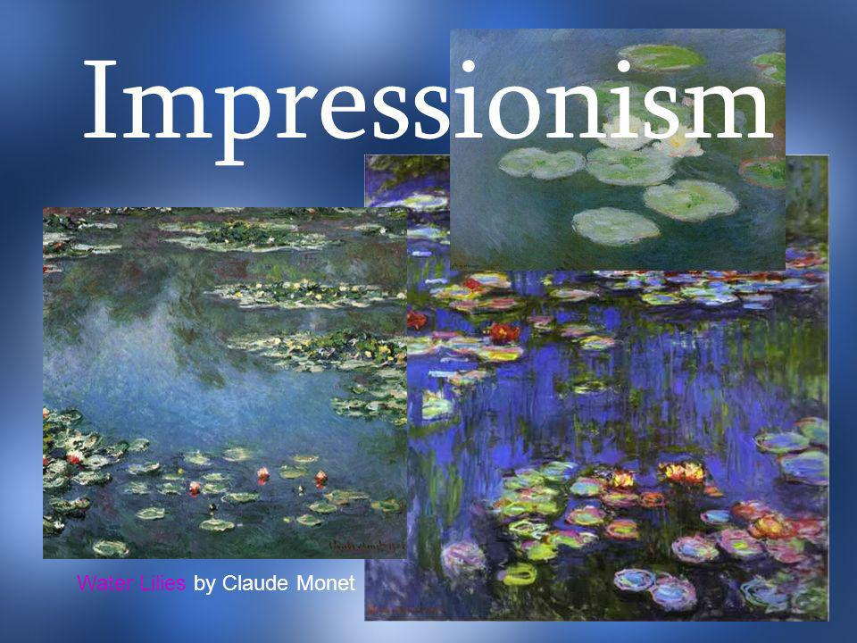 Water Lilies by Claude Monet Impressionism