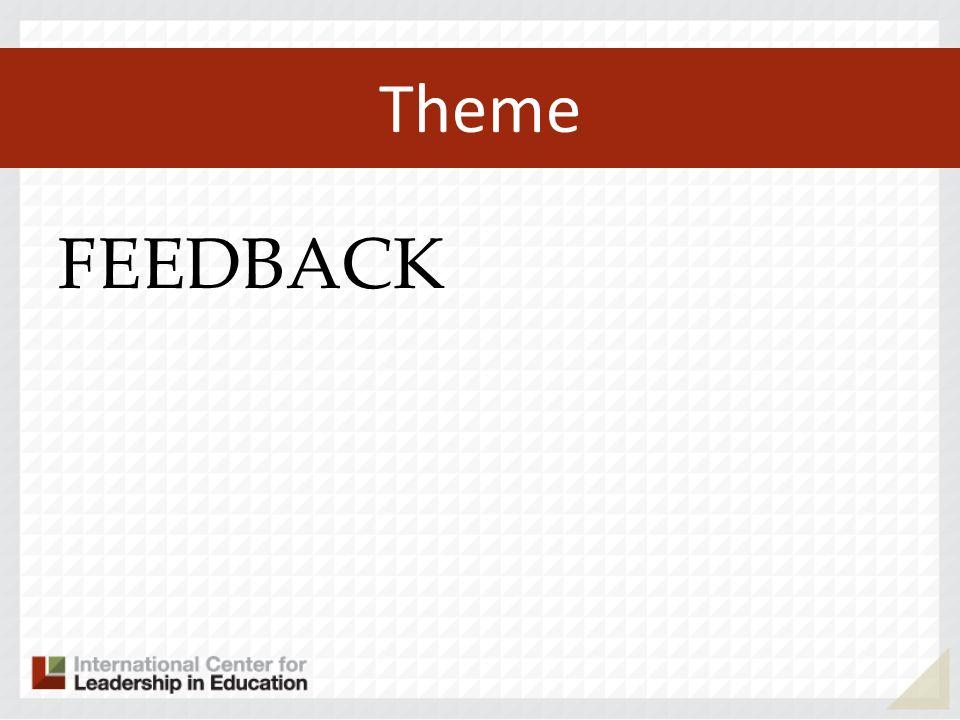 Theme FEEDBACK