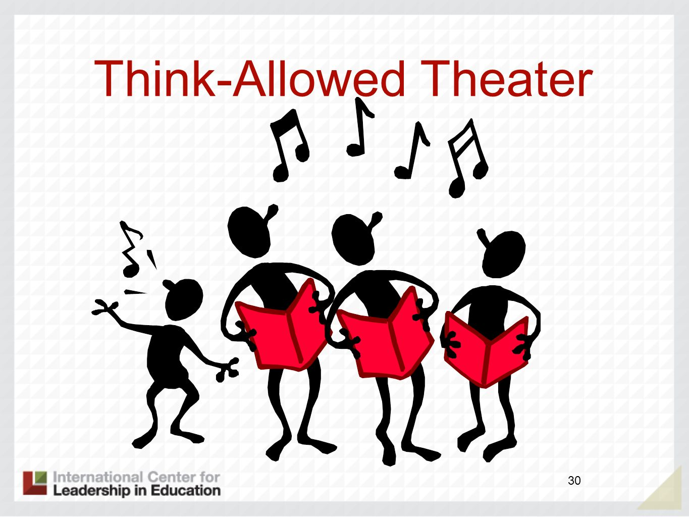 Think-Allowed Theater 30