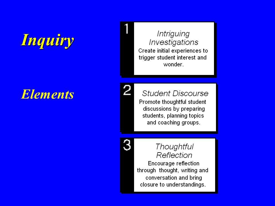 Inquiry Elements