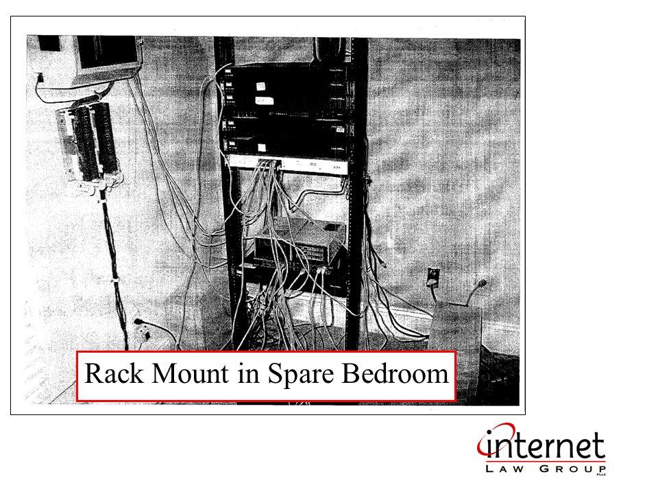 Rack Mount in Spare Bedroom