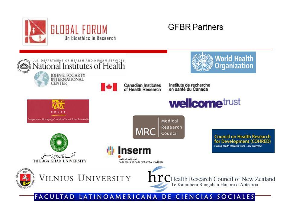 GFBR Partners Institut national de la santé et de la recherche médicale