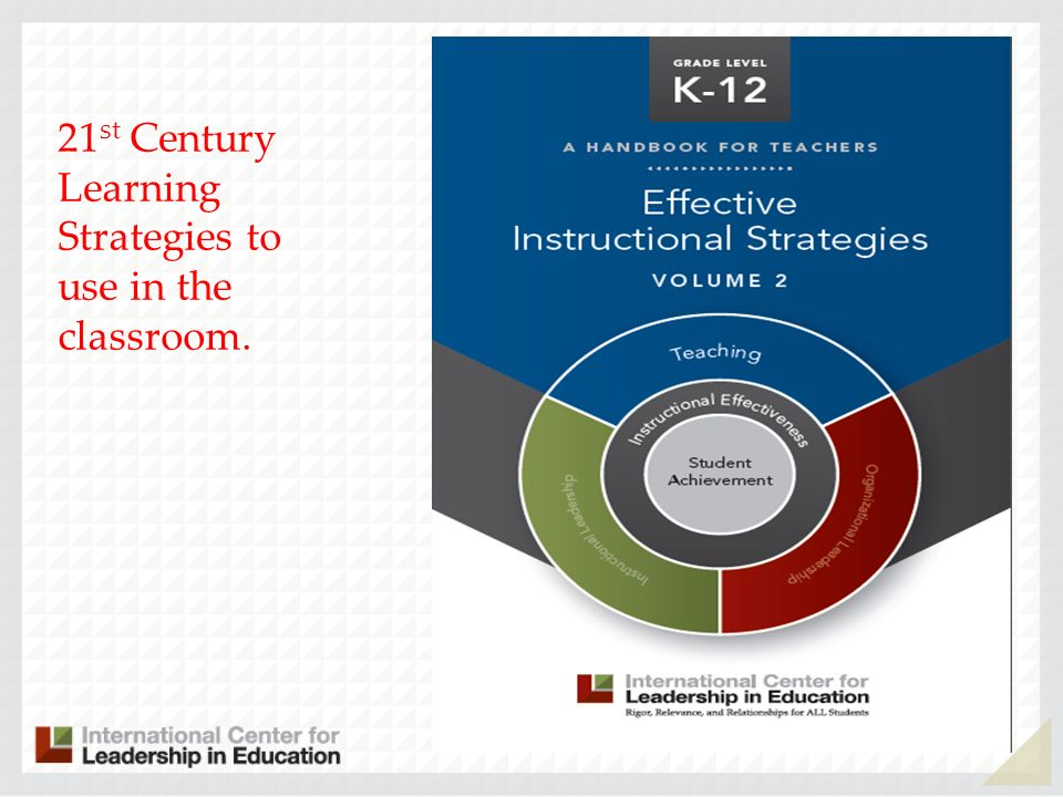 21 st Century Learning Strategies to use in the classroom.