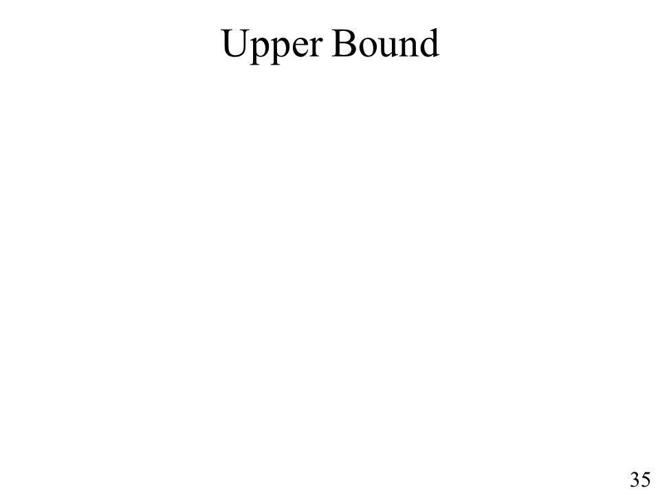 Upper Bound 35
