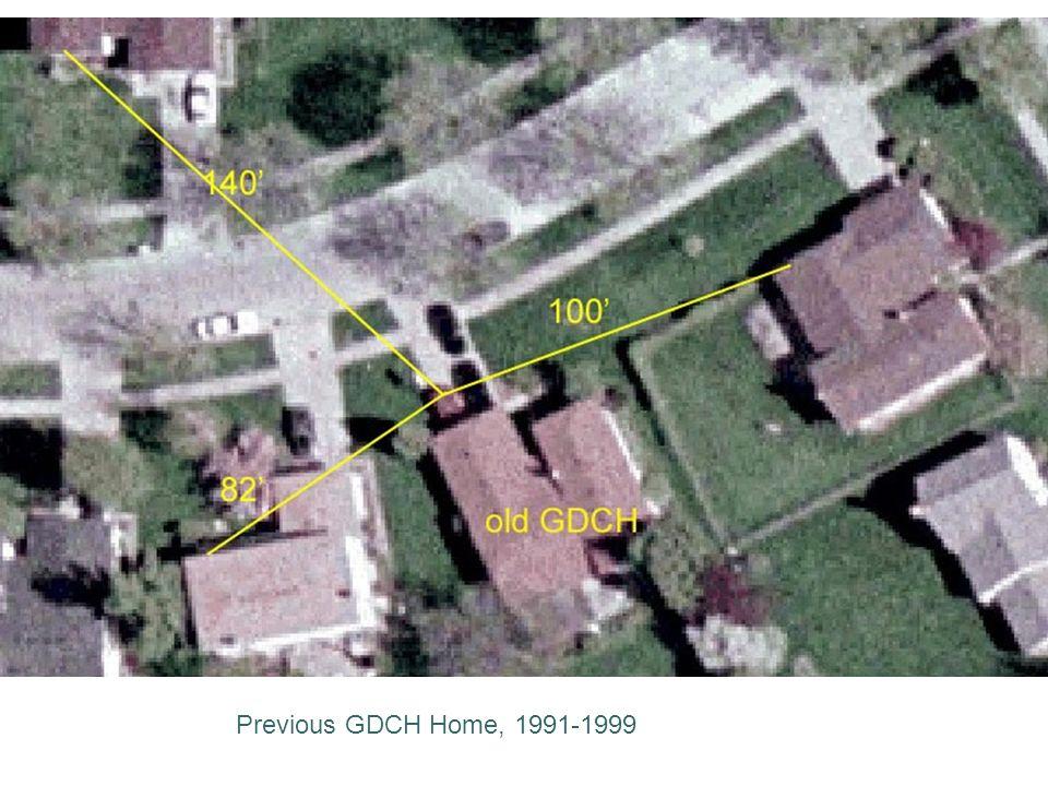 Previous GDCH Home, 1991-1999