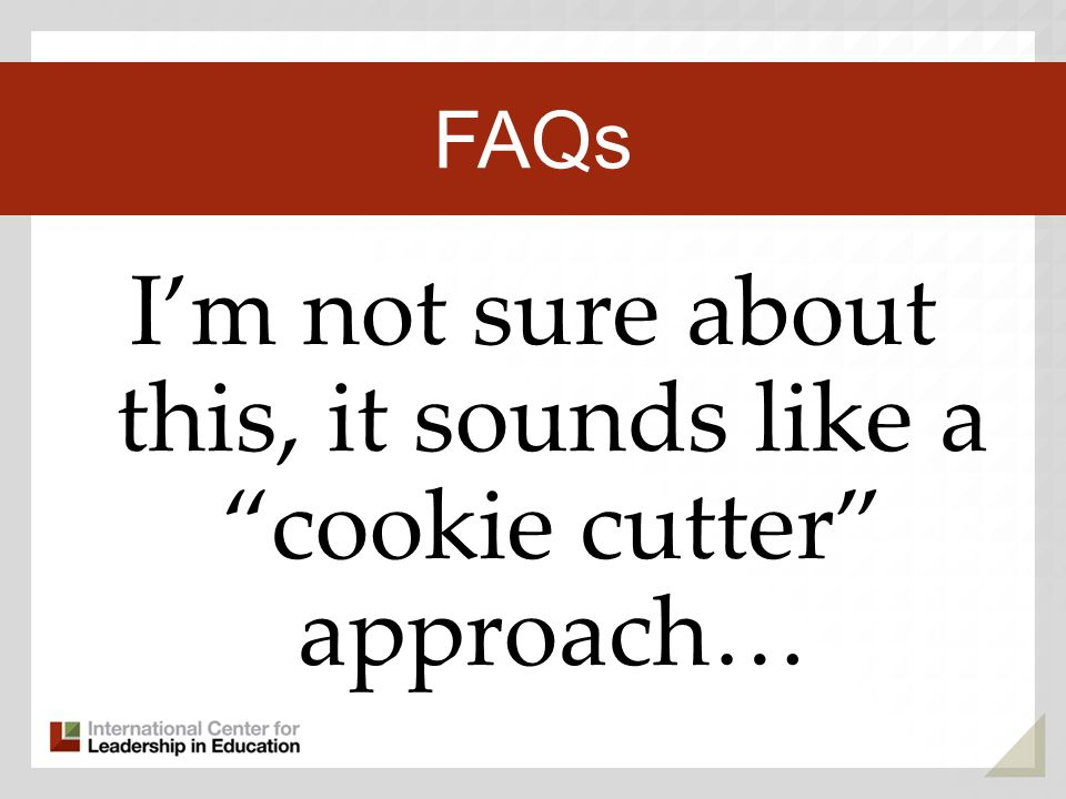 Im not sure about this, it sounds like a cookie cutter approach… Third Key Trend FAQs