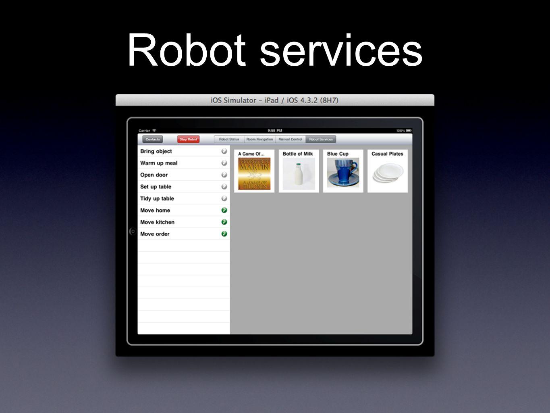 Robot services
