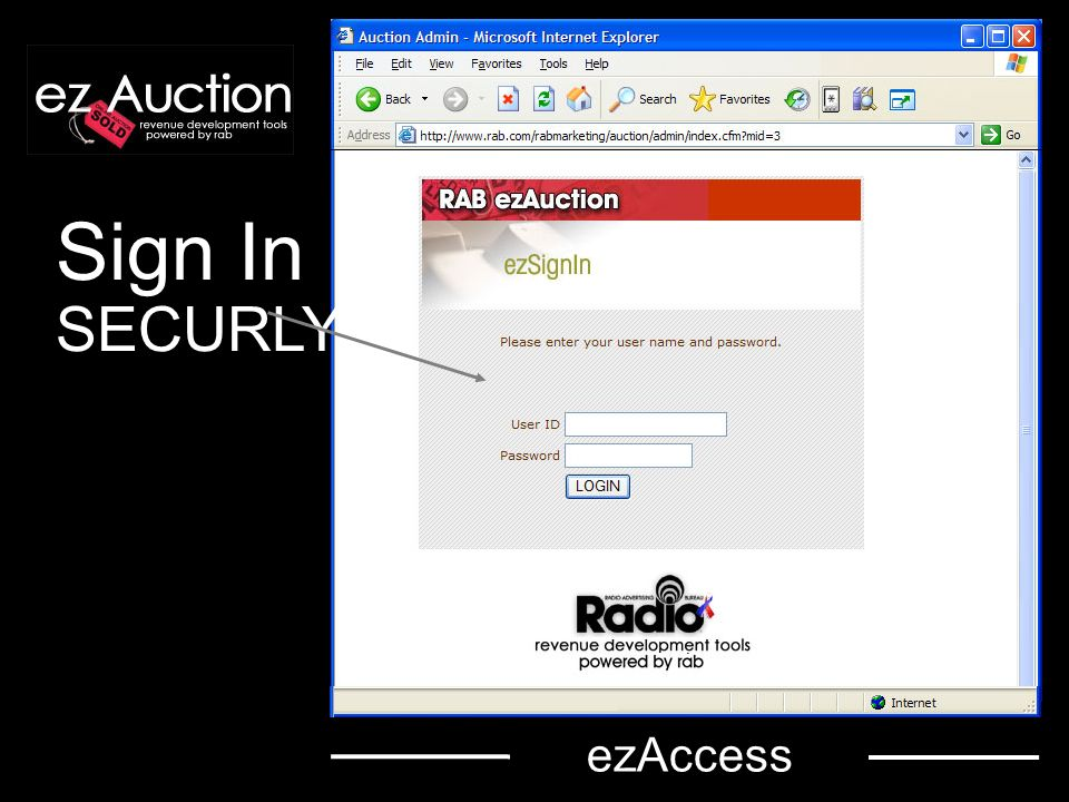 Sign In SECURLY ezAccess