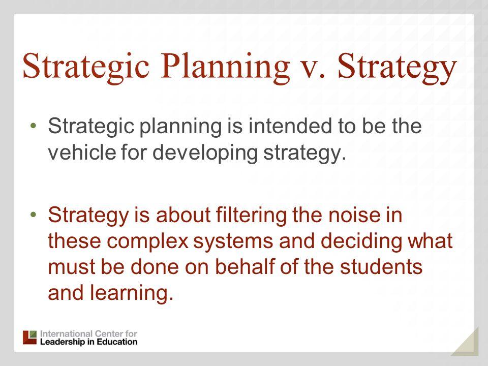 Strategic Planning v.