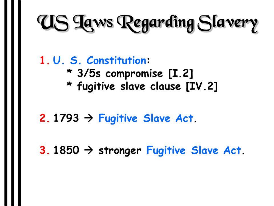 Southern Slavery--> An Aberration.J 1780s: 1 st antislavery society created in Phila.
