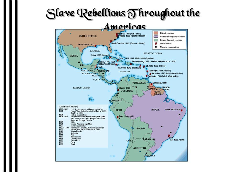Slave Rebellions in the Antebellum South 1822 Gabriel Prosser 1800