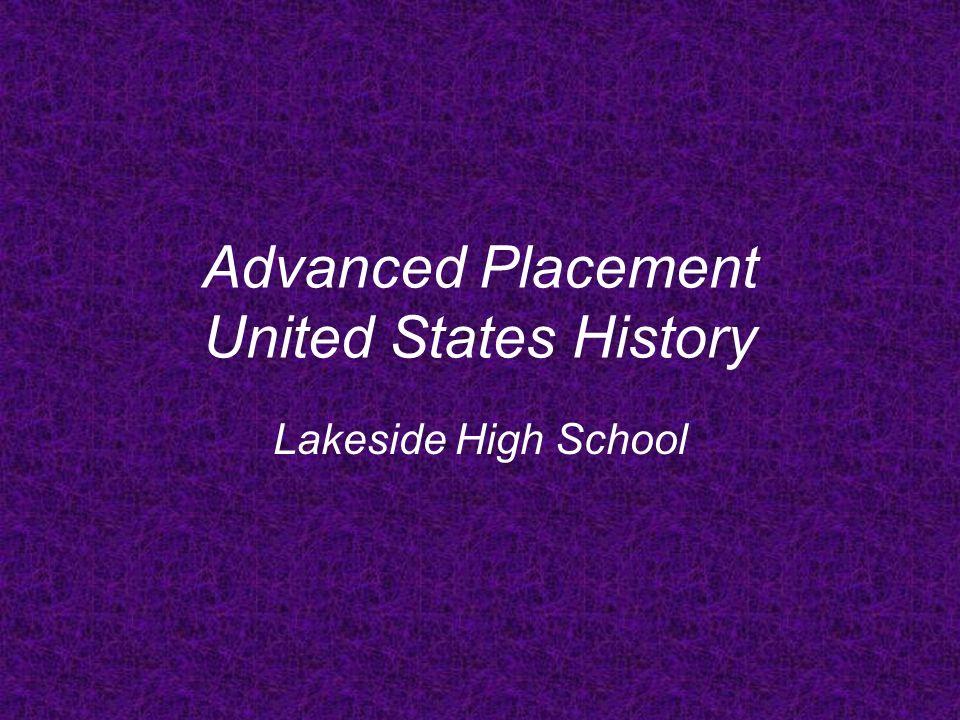 Why Take AP US History.