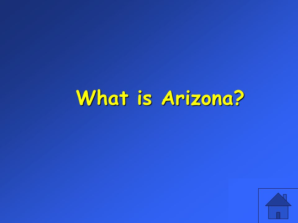 What is Arizona?