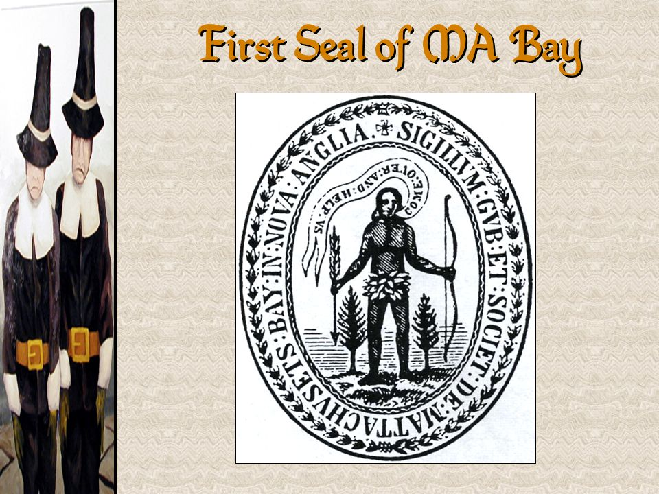 First Seal of MA Bay