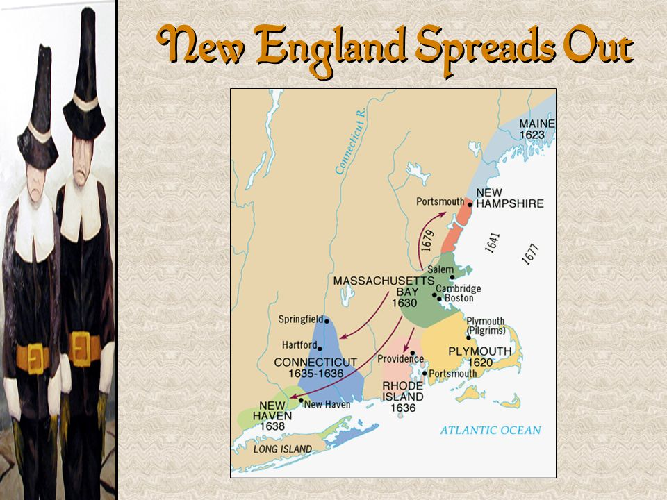New England Spreads Out