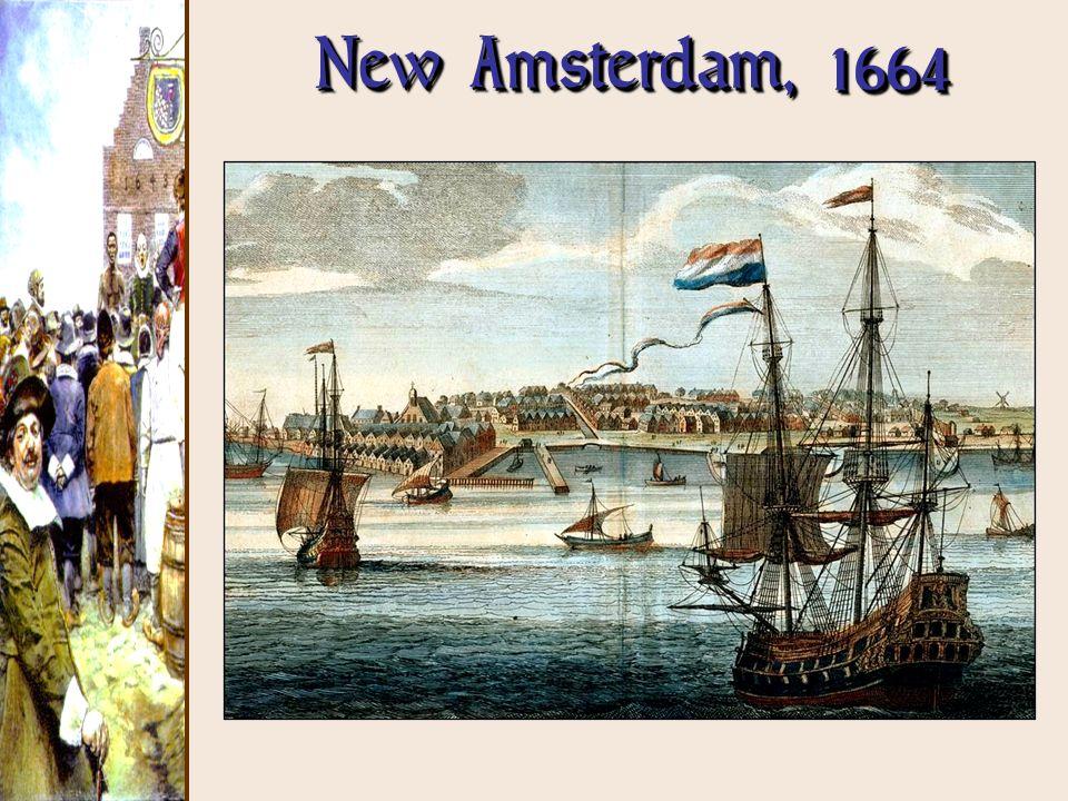 New Amsterdam, 1664